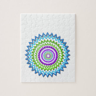 Illuminate BlueStar Chakra - Purple at Heart Jigsaw Puzzles