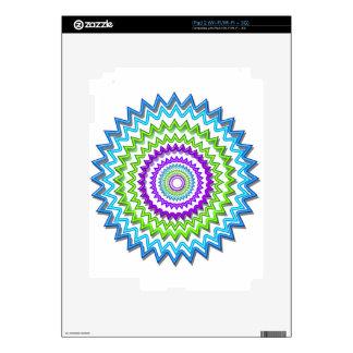 Illuminate BlueStar Chakra - Purple at Heart Skins For iPad 2