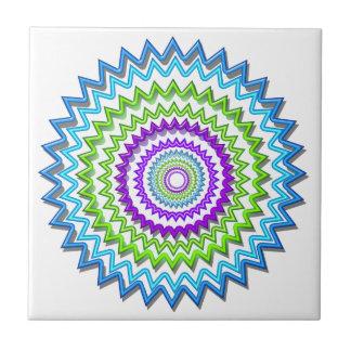 Illuminate BlueStar Chakra - Purple at Heart Tile
