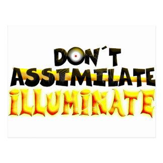 Illuminate Postcard