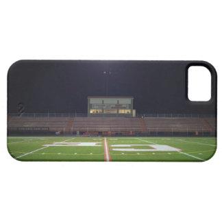Illuminated American football field at night iPhone SE/5/5s Case