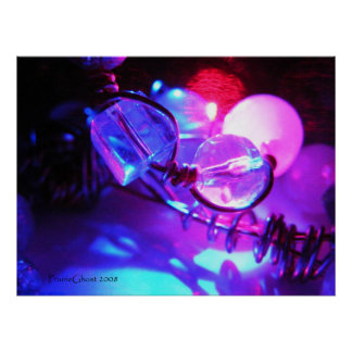 Illuminated Beads and Wire 1 Poster