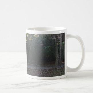 Illuminated Bench Coffee Mug