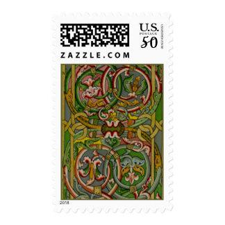 Illuminated Celtic Pattern Postage
