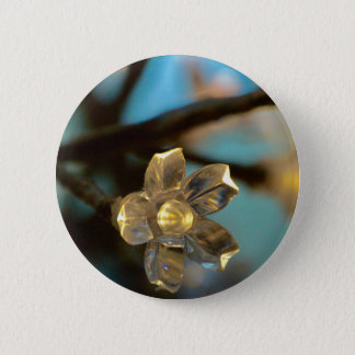 Illuminated Cherry Blossom Button