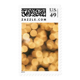 Illuminated Christmas tree lights Postage