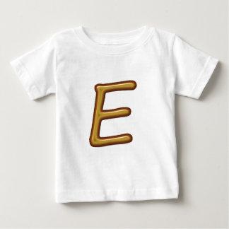 Illuminated Engraved 3D Alphabets A B C D E T-shirt