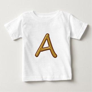 Illuminated Engraved 3D Alphabets A B C D E T Shirt