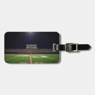Illuminated Football Field Bag Tag