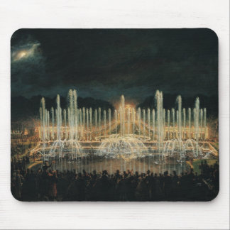 Illuminated Fountain Display Mouse Pad