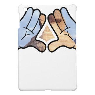 illuminated hands iPad mini case