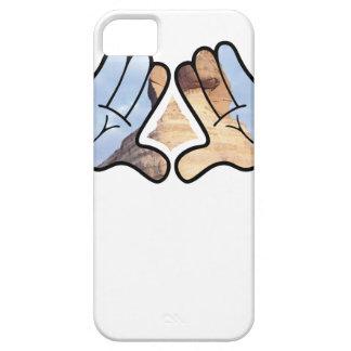 illuminated hands iPhone SE/5/5s case