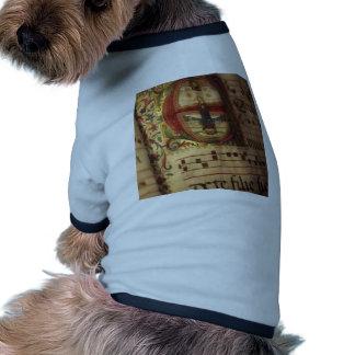 Illuminated manuscrip pet t shirt