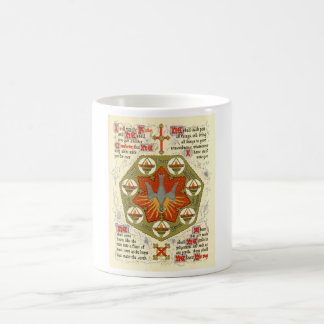Illuminated Manuscript for Whitsuntide Coffee Mug