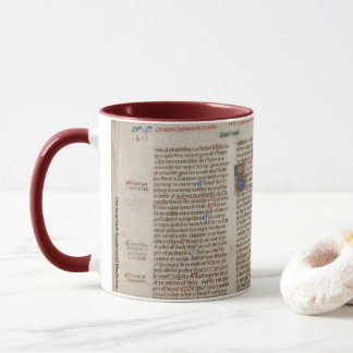 Illuminated Manuscript Page 10 Mug