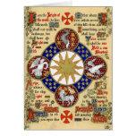 Illuminated Manuscript the Epiphany Card