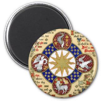 Illuminated Manuscript the Epiphany Magnet