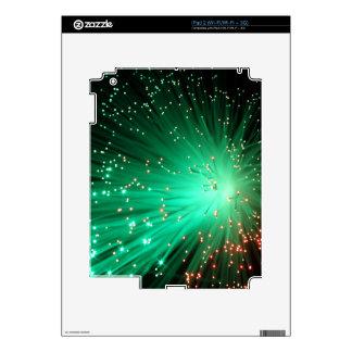 Illuminated Optical Fibers Decals For iPad 2