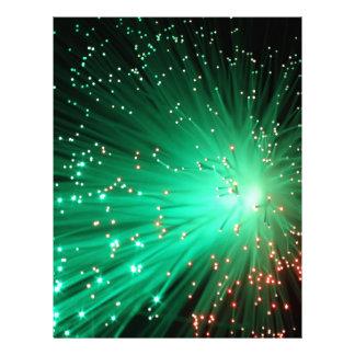 Illuminated Optical Fibers Letterhead