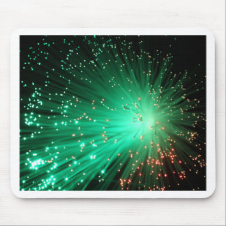 Illuminated Optical Fibers Mouse Pad