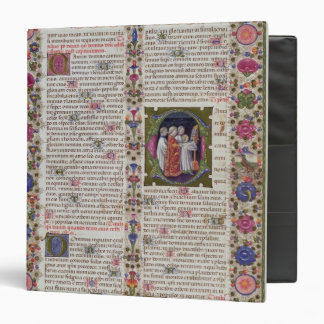 Illuminated page from the Book of Psalms Binder