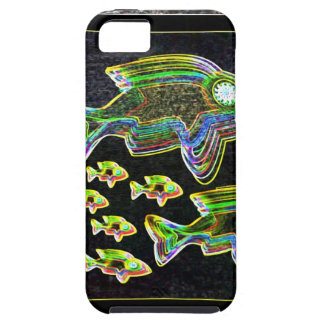Illuminated Reflection : Fish in Flood Light iPhone SE/5/5s Case