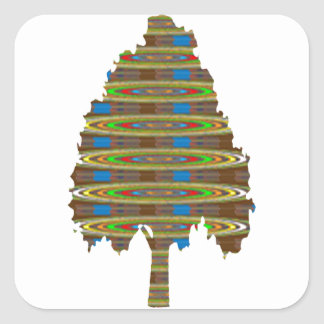 ILLUMINATED Revolving Tree: Graphic Art  LOWPRICE Stickers