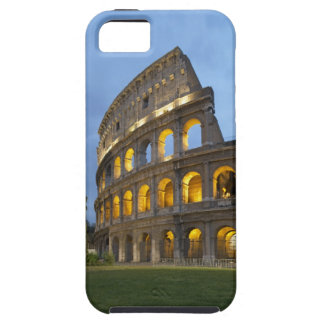 Illuminated section of the Colosseum at dusk. iPhone SE/5/5s Case