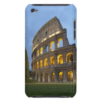 Illuminated section of the Colosseum at dusk. iPod Touch Cover