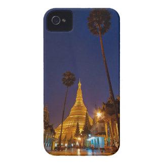 illuminated SHWEDAGON PAGODA iPhone 4 Covers