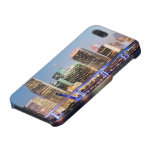 Illuminated skyline of downtown Miami at dusk iPhone 5/5S Covers
