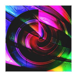 Illuminated Swirl Gallery Wrap Canvas