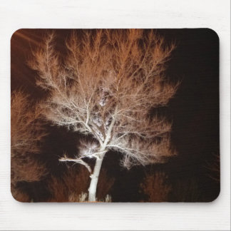 Illuminated Tree Mouse Pad