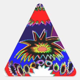 Illuminated Vas 23 Triangle Sticker