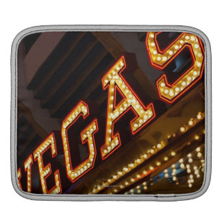 Illuminated Vegas sign Sleeves For iPads