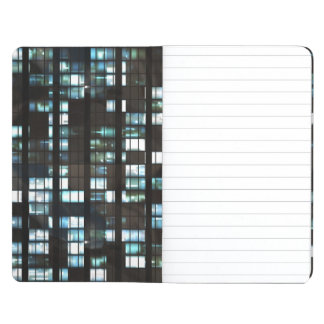 Illuminated windows pattern journal