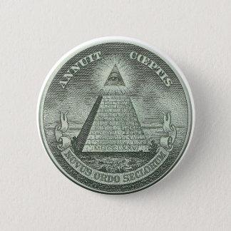 Illuminati - All seeing eye Button