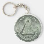 Illuminati - All seeing eye Key Chains