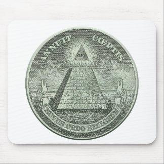 Illuminati - All seeing eye Mouse Pad