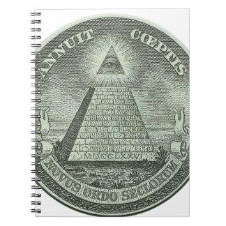 Illuminati - All seeing eye Journals