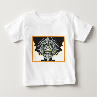 Illuminati All Seeing Eye NWO New World Order Baby T-Shirt