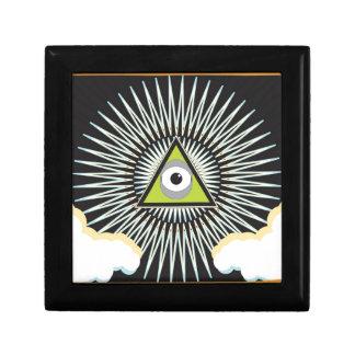 Illuminati All Seeing Eye NWO New World Order Gift Boxes