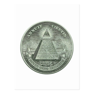Illuminati - All seeing eye Postcard