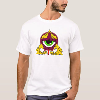 ILLUMINATI ALL SEEING EYE PYRAMID CASH MONEY THUG T-Shirt