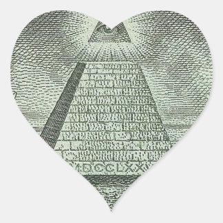 Illuminati - All seeing eye Sticker