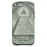 Illuminati - All seeing eye Tough iPhone 6 Case