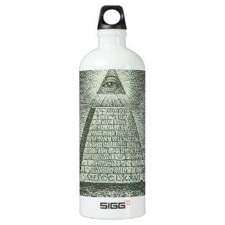 Illuminati - All seeing eye Water Bottle