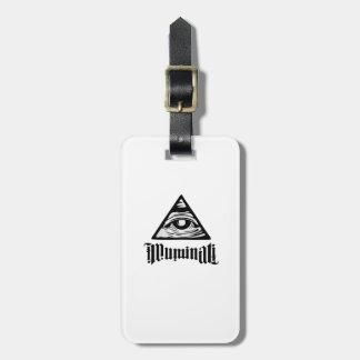 Illuminati Bag Tag