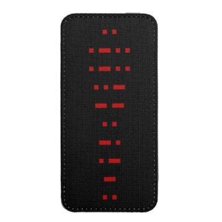 ILLUMINATI (código Morse) Bolsillo Para iPhone