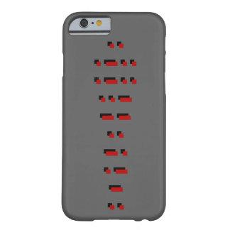 ILLUMINATI (código Morse) Funda Barely There iPhone 6